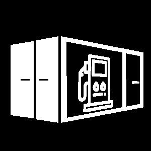 9. Kuro konteineris su paskirstymo įranga